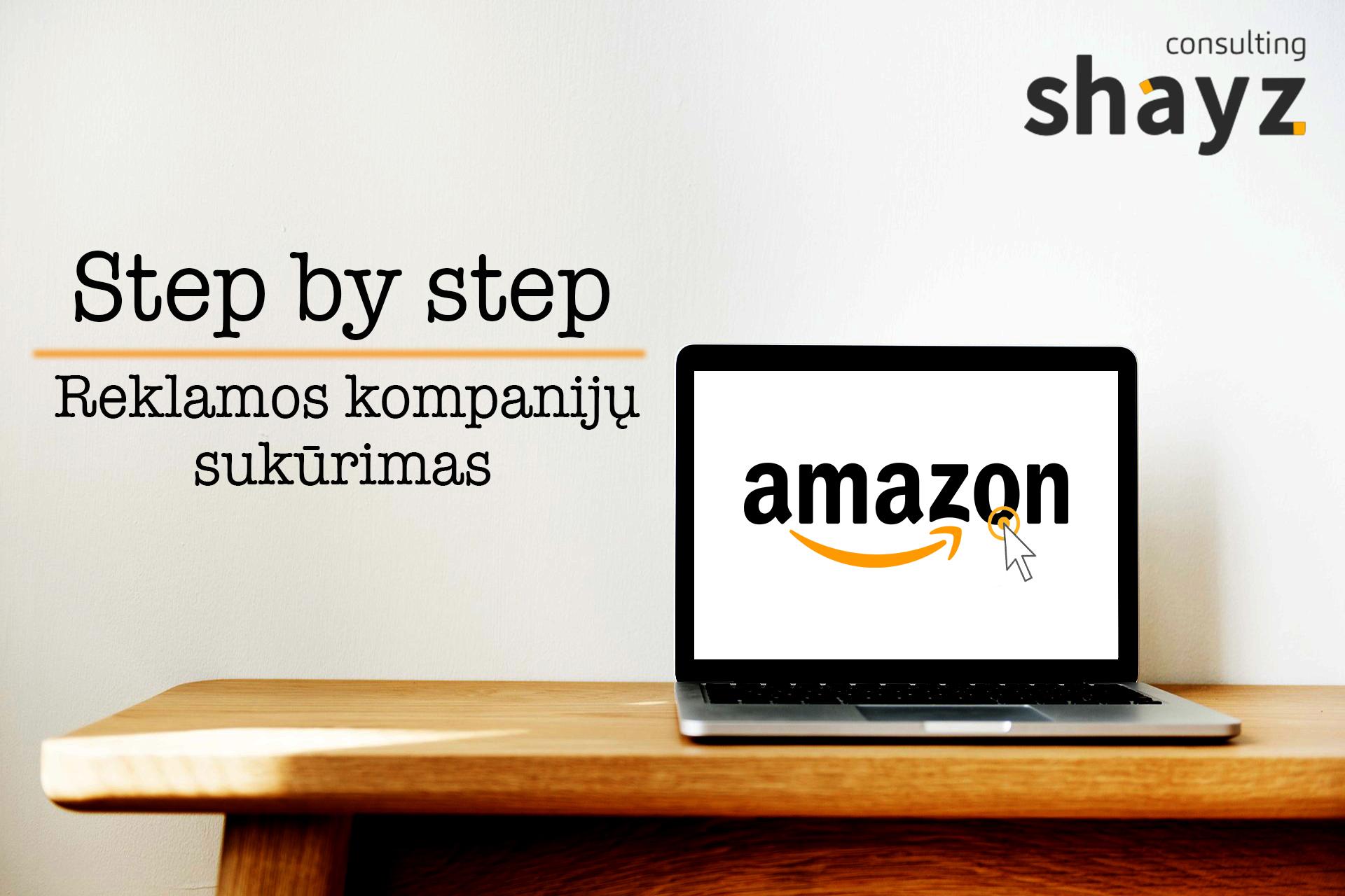 """Reklamos kampanijų sukūrimas """"Step by Step"""""""