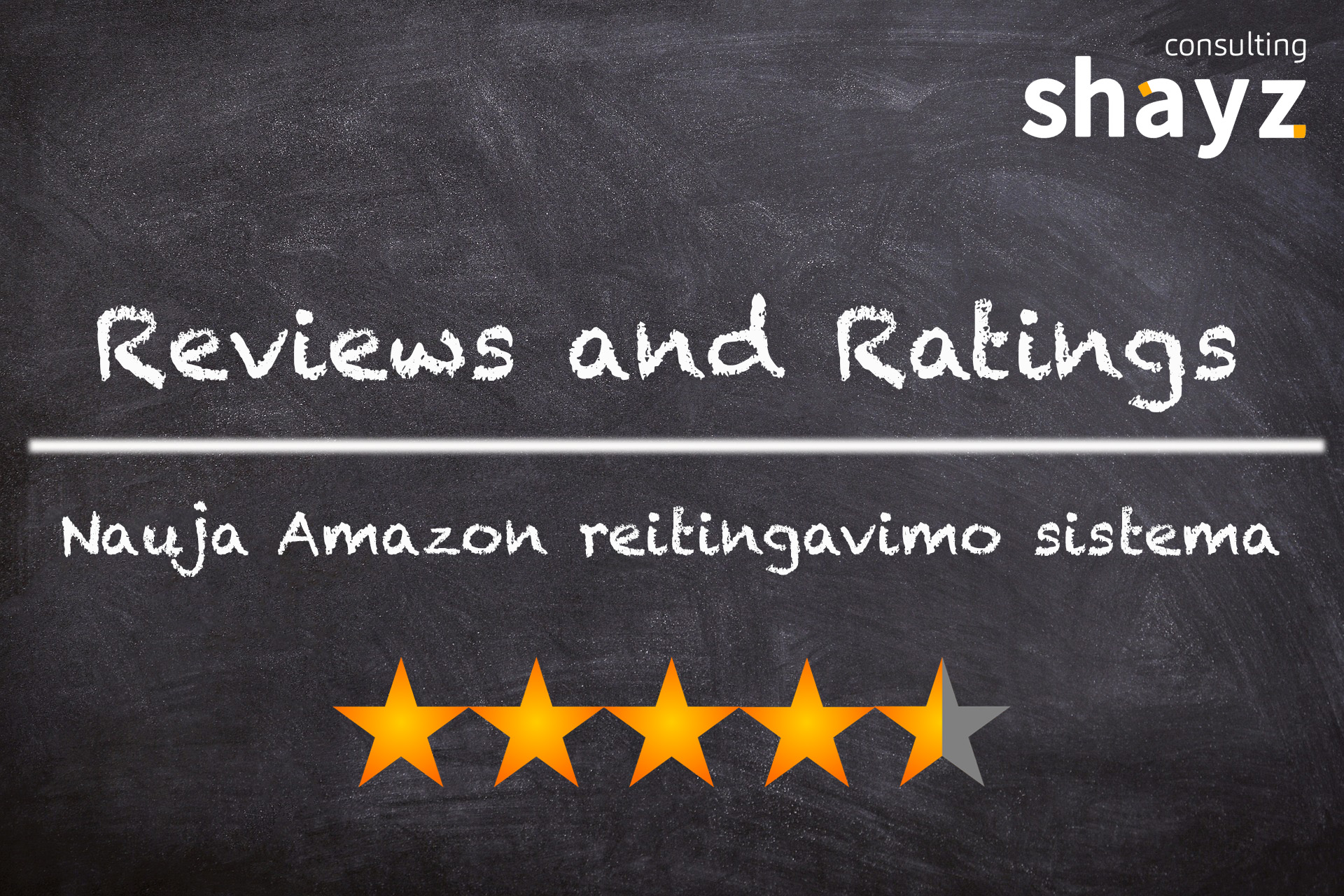 Nauja Amazon reviews sistema