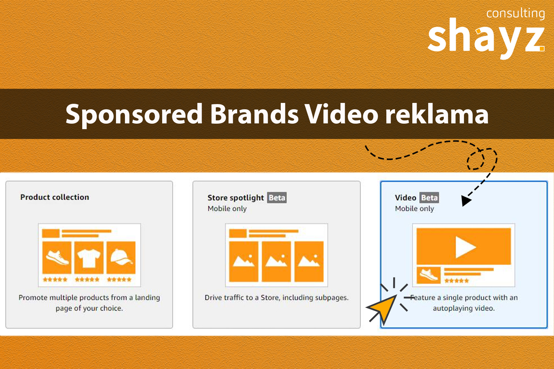 Sponsored Brands Video reklama